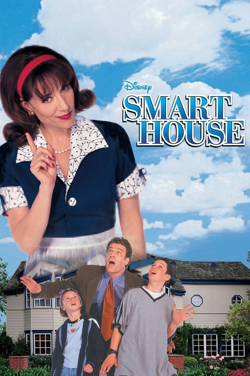 A promotional poster for the film 'Smart House'