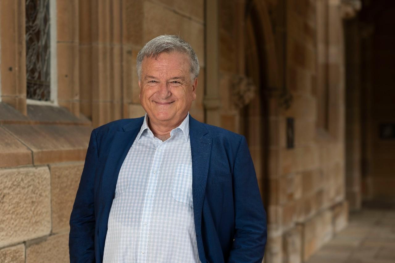 photo of Professor Ken Cruickshank, Sydney Institute of Community Languages.