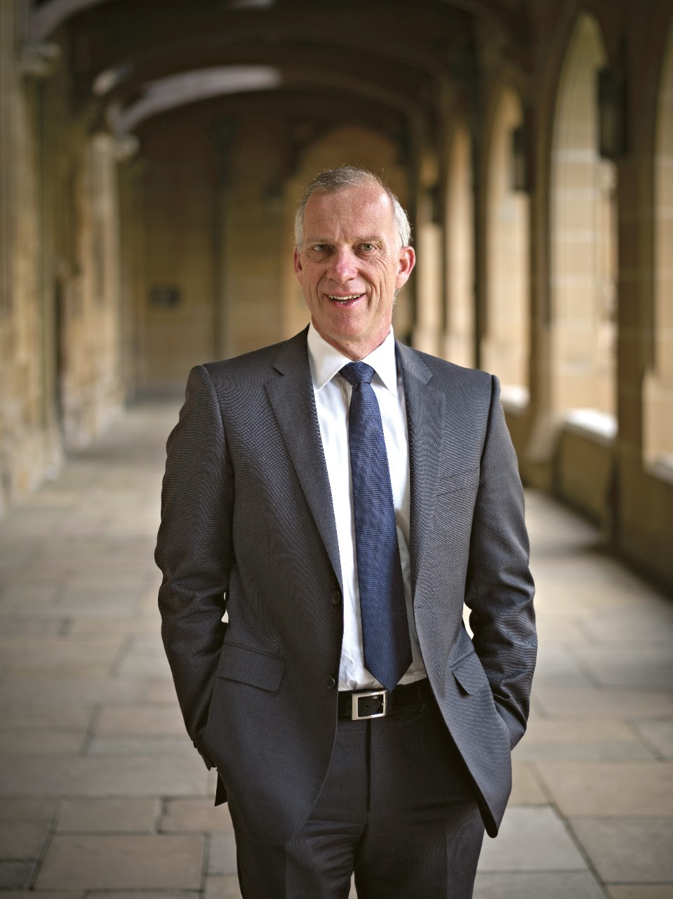 Dr Michael Spence, Vice-Chancellor and Principal.