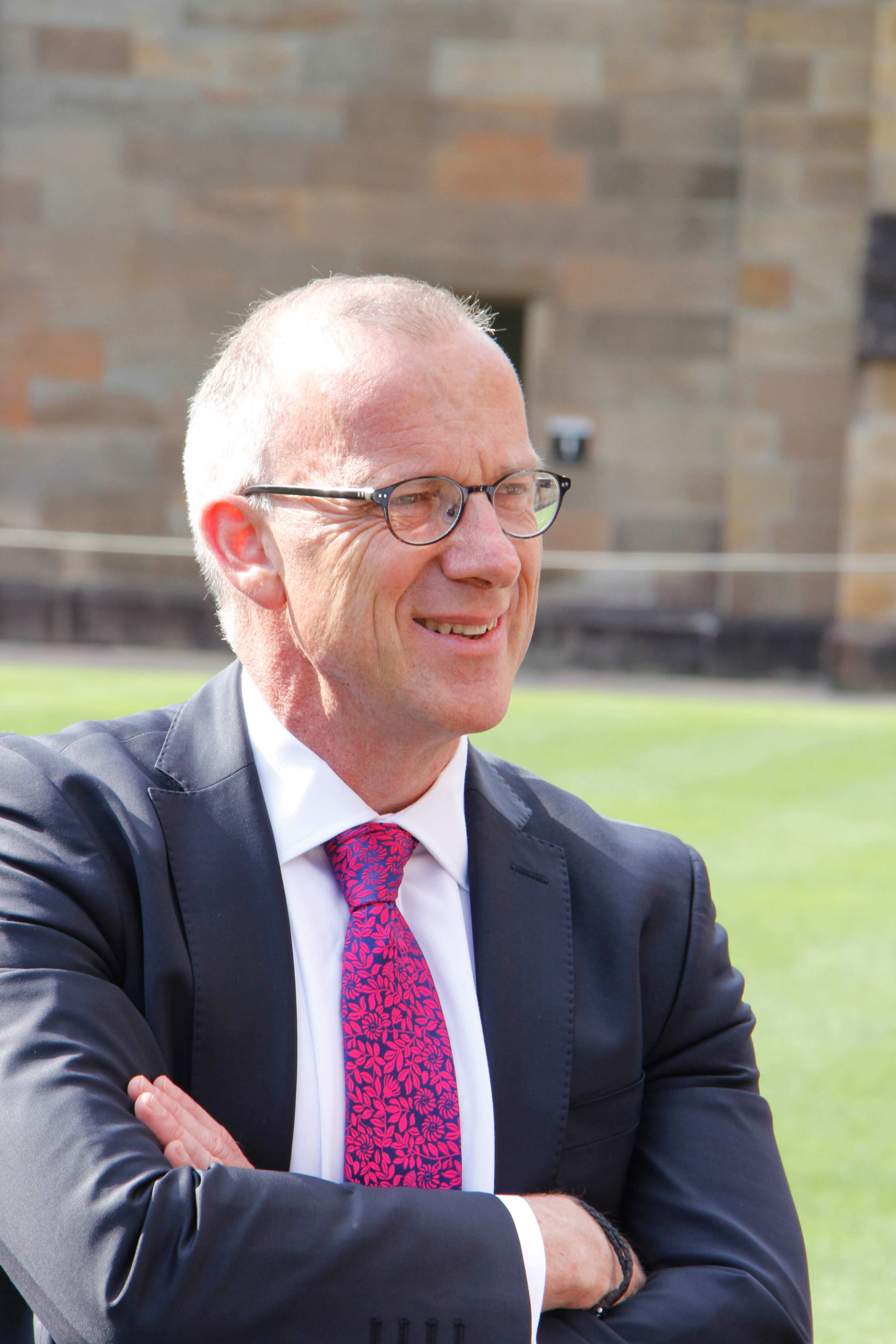 Profile shot of Dr Michael Spence, University of Sydney Vice-Chancellor and Principal.