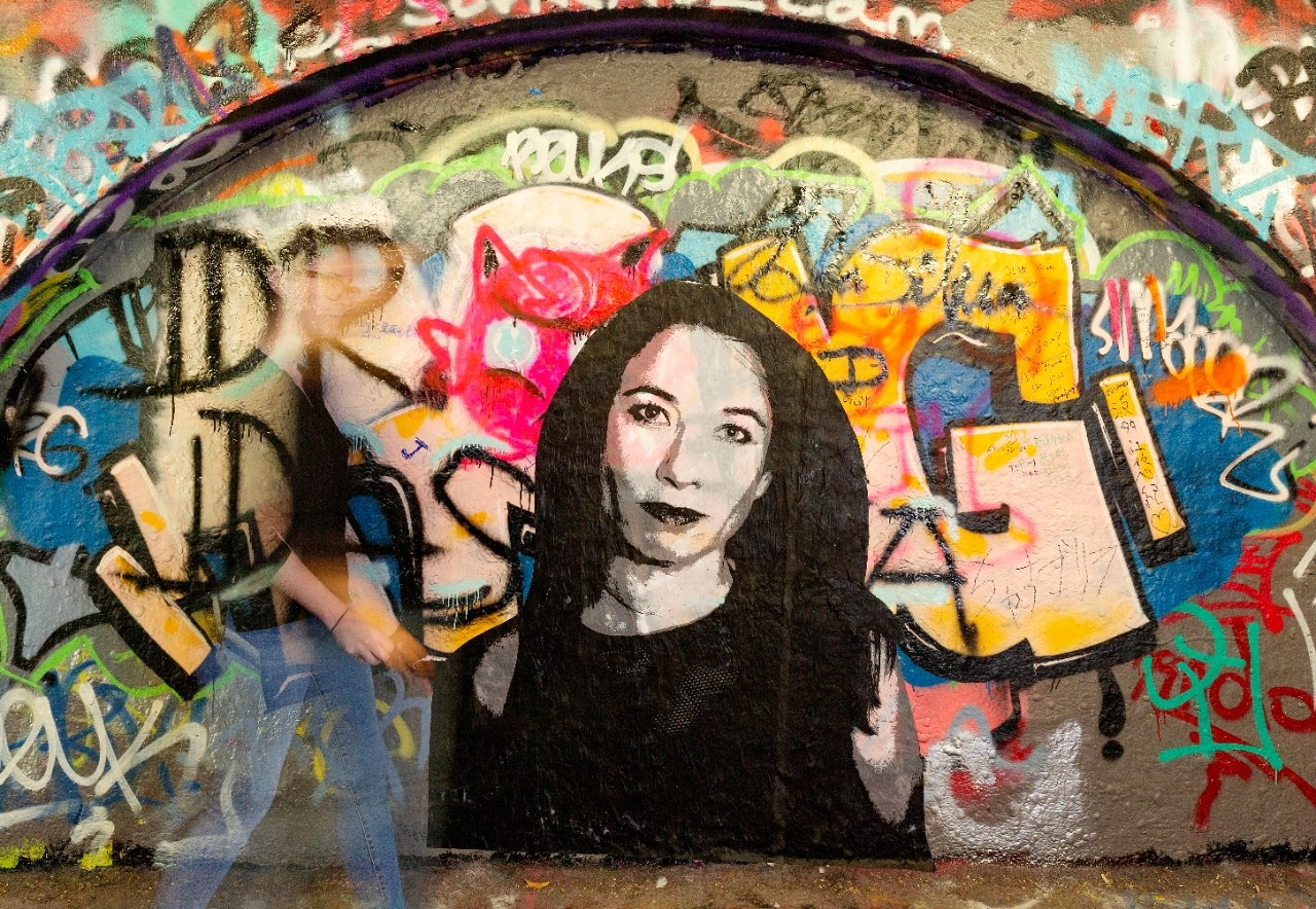 University of Sydney Graffiti Tunnel.
