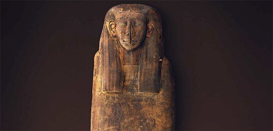 Ancient Egyptian coffin lid of Mer-Neith-it-es