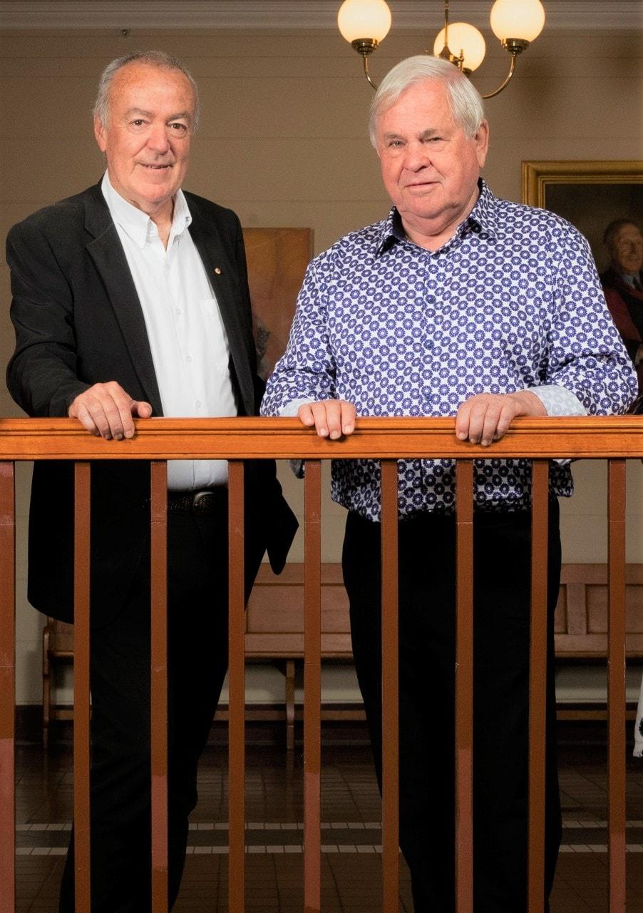 Simon Chapman and Stephen Leeder