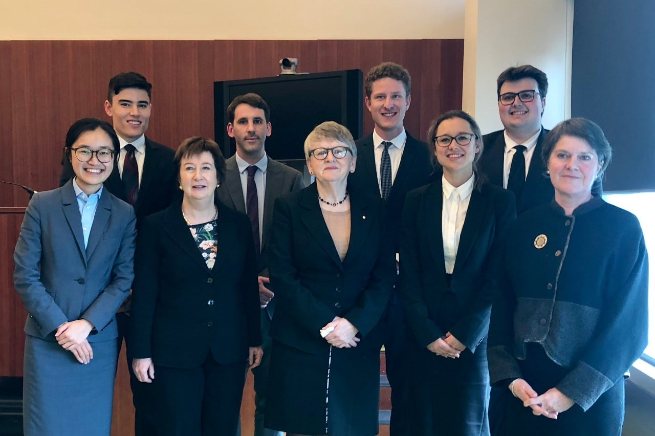 Grand Finalists of the 2018 Sir Harry Gibbs Constitutional Law Moot