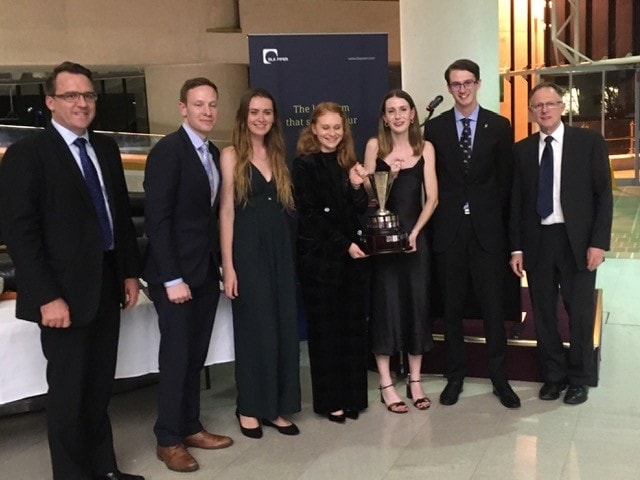 Jessup Moot team and judges