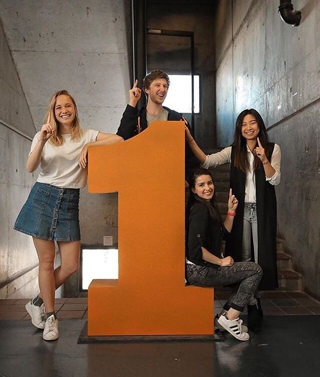 Students with giant number 1