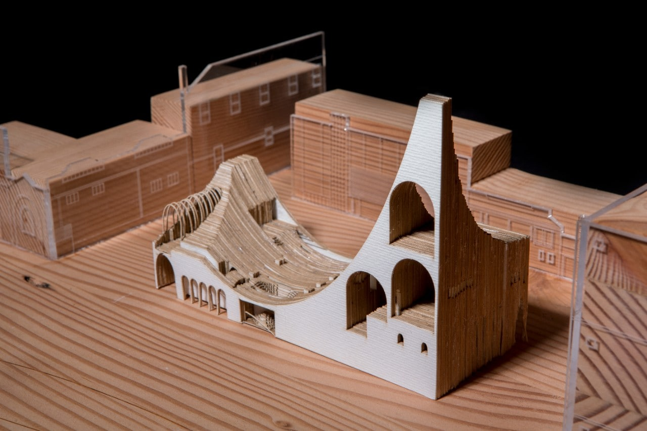 The Arch-Museum, a project by graduate student Gracie Guan.