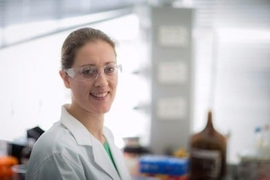 Associate Professor Elizabeth New is 'iron' in the table of younger chemists.