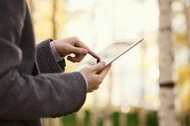 Using an iPad