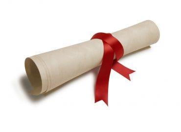 Award Scroll