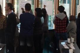 Groups developing summaries