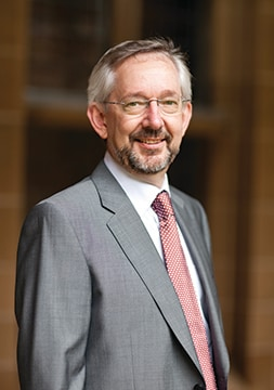 Dean of Science, Trevor Hambley