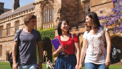 Postgraduate students at Sydney