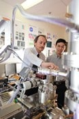 Professor Simon Ringer and Dr Rongkun Zheng, part of a WUN research partnership
