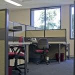 Refurbished office space at Australian Technology Park