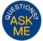 Ask Me badge
