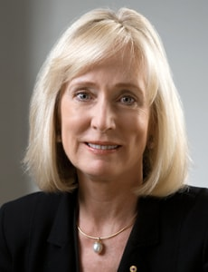 Belinda Hutchinson is the University of Sydney's 18th Chancellor.