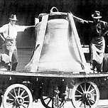 Image of one of the bells of the carillon