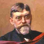 Painting of Mungo MacCallum, the first Vice-Chancellor of the University