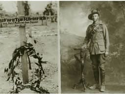 Australian soldier with German heritage
