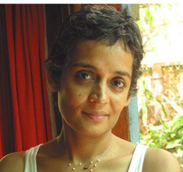 Photograph of Arundhati Roy