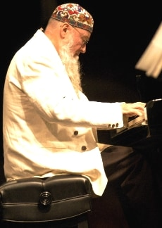 Terry Riley on keyboard.