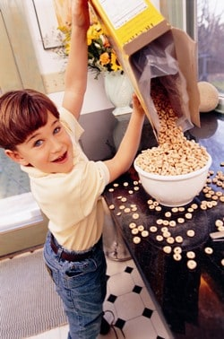 In popular programs for children aged 13-17, high-fat, high-sugar foods made up 66.8 per cent of food advertisements.