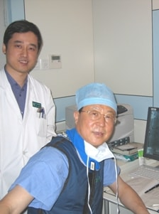 Co-Principal Investigator in the George Institute's large-scale heart study, Professor Gao Runlin, the President of the Chinese Society of Cardiology (right), is now starting the second phase of the study.