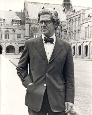 Sir Bruce Williams, Vice-Chancellor of the University of Sydney from 1967 to 1981.