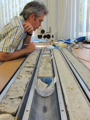 Researchers examining the fossil coral reef cores have found climate change has not been smooth and continuous.