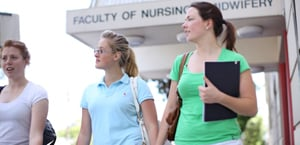Sydney Nursing School students.
