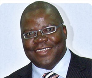 The Right Honourable Mr Tendai Biti MP, Zimbabwean Minister of Finance.