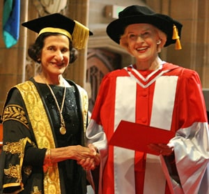 Chancellor Marie Bashir and Governor-General Quentin Bryce.