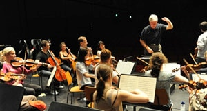 The Sydney Conservatorium Chamber Orchestra is playing at the Bronnbach Festival in Germany this week.