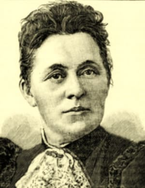 Louisa Ardill, who established the Home Training and Lying in Hospital in 1895.