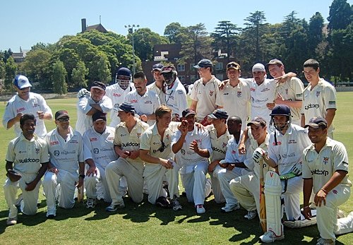 Unlikely friends: the University of Sydney and Compton Cricket Clubs.