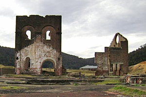 NSW Archaeology On-Line holds information about the archaeology and heritage of important cultural places in NSW, such as this historical smelter in Lithgow.