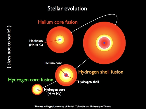 This discovery has led to new insight into how stars evolve.