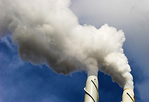 The researchers are looking at ways to convert CO2 into useful substances.