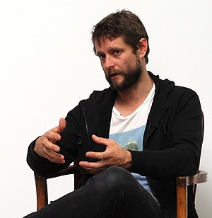 Ben Quilty spoke candidly in the online chat about what matters to him.