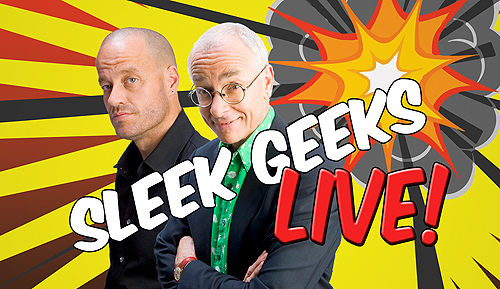 The Sleek Geeks, Dr Karl Kruszelnicki and Adam Spencer.