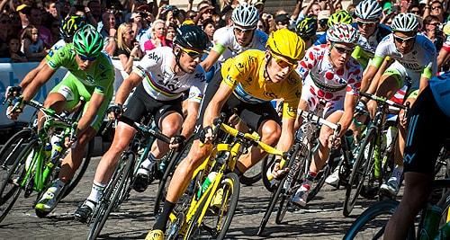 Blood doping has affected many high profile sports events like the Tour de France. [Image: Flickr/Josh Hallett]