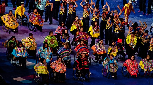 Events like the London 2012 Paralympics enlarge our notions of what is it to be human. [Image: Flickr/Megan Trace]