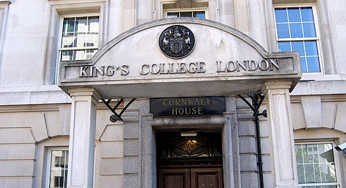 King's College London is one of the top ranked universities in the world.