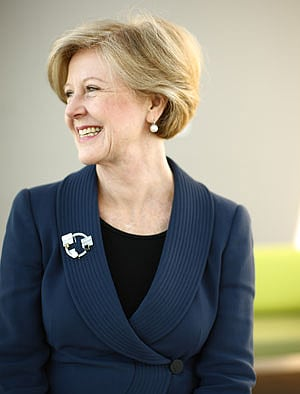 "Professor Gillian Triggs: ""Australian lawyers have long thought regionally and globally."""