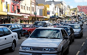 Parramatta Road, one of Sydney's most congested roads. [Image: Flickr/Tony Rodd]