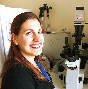 Leader of the research project, NHMRC Early Career Fellow, Dr Zaklina Kovacevic.