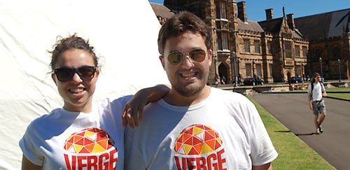 The Verge Festival is a dream factory, say directors Lauren Eisinger and James Colley.