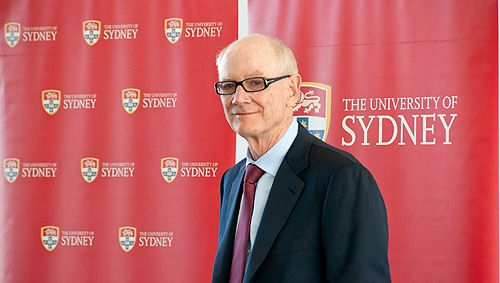 "John Grill: The University of Sydney ""has an outstanding reputation for academic excellence and professionalism and I could not think of a better institution on which to bestow this gift."""