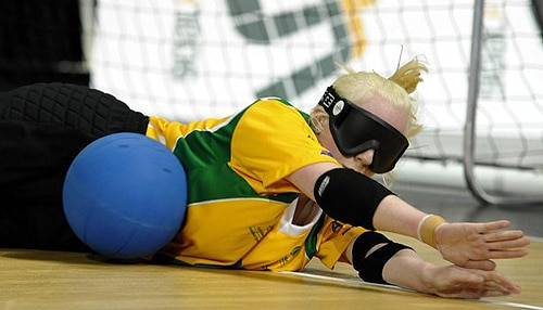 Jennifer Blow will compete in goalball.